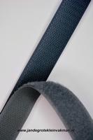 Klittenband YKK, opnaaibaar per meter, 20mm breed, marine