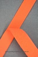 Klittenband YKK, opnaaibaar per meter, 20mm breed, oranje