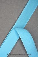 Klittenband YKK, opnaaibaar per meter, 20mm breed, l-blauw