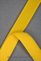 Klittenband YKK, opnaaibaar per meter, 20mm breed, geel