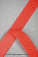 Klittenband YKK, opnaaibaar per meter, 20mm breed, rood