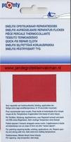 Pronty snelfix opstrijkb. reparatiedoek, rood