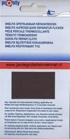 Pronty snelfix opstrijkb. reparatiedoek, donkerbruin