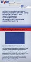 Pronty snelfix opstrijkb. reparatiedoek, korenblauw