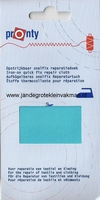 Pronty snelfix opstrijkb. reparatiedoek, turquoise