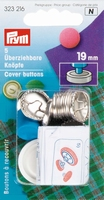Prym stofknopen, 19mm, 5 stuks