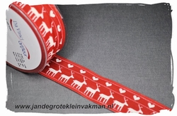 Sier of afwerkband kerst them, ca. 40mm breed, per meter