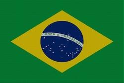 Landenvlag Brazilïe, 155cm x 90cm
