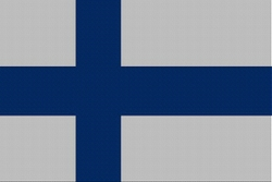 Landenvlag Finland, 155cm x 90cm