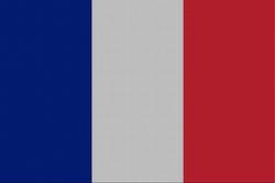 Landenvlag Frankrijk, 155cm x 90cm