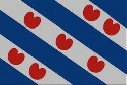 Provincievlag Friesland, 155cm x 90cm