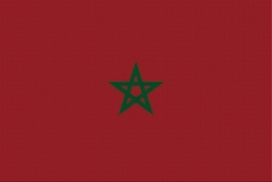 Landenvlag Marokko, 155cm x 90cm