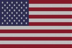 Landenvlag  Verenigde Staten, 155cm x 90cm