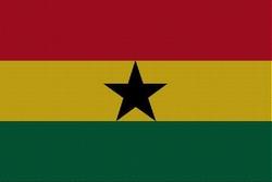 Landenvlag Ghana, 155cm x 90cm