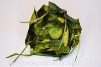 Veren corsage groen, large