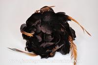 Veren corsage mocca, large