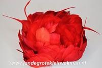 Veren corsage rood, large