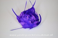 Veren corsage purper, small