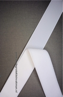 Klittenband YKK, opnaaibaar per meter, 50mm breed, wit