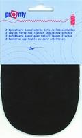 Pronty kunstlederen elleboogstukken, d. bruin, 2 stuks