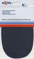 Pronty opstrijkbare knie-elleboogstukken, d-blauw, 2 stuks