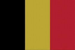 Landenvlag Belgïe, 155cm x 90cm