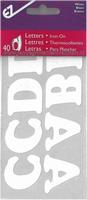 Applicatie alfabet, 40 letters 32mm hoog, wit