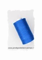 Rijggaren, kleur blauw, klos van 300 mtr.