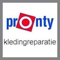 Kledingreparatie Pronty