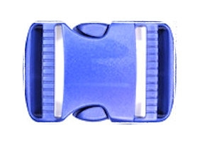 Koppelband sluitingen blauw