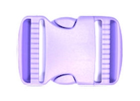Koppelband sluitingen lila