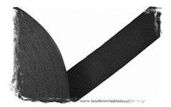 Koppelband zwart